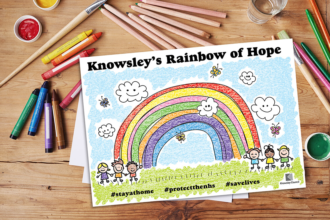 Knowsley's Rainbow of Hope
