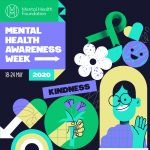 graphic which has the words Mental Health Awareness Week