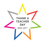 National Thank a Teacher Day logo