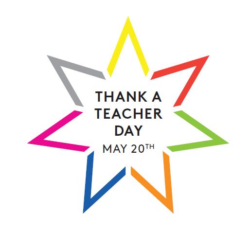 National Thank a Teacher Day logo
