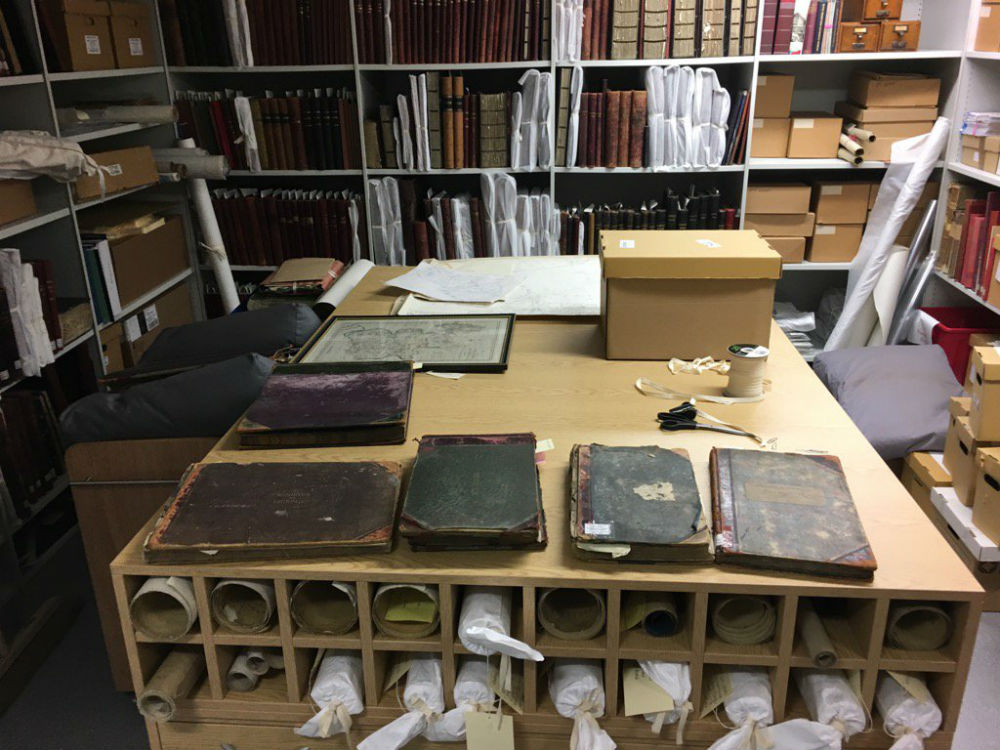 archive search room