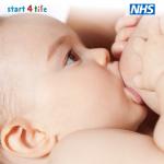baby breastfeeding