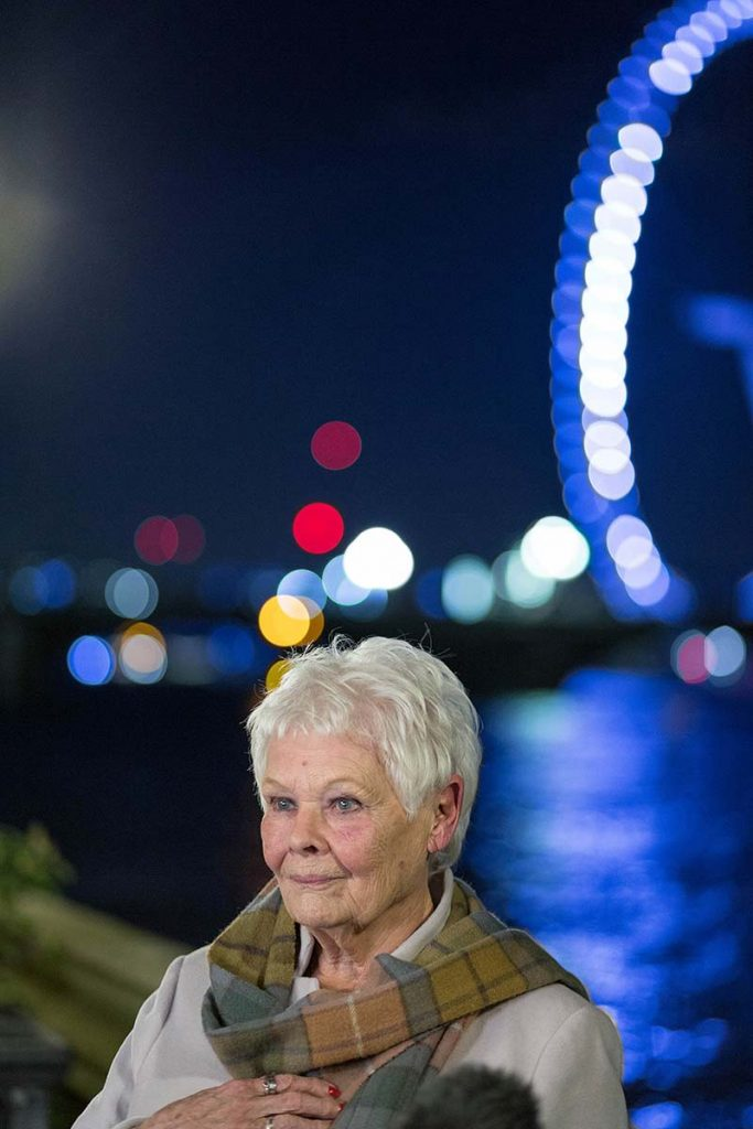 Dame Judi Dench at Houses of Parliament January 2020