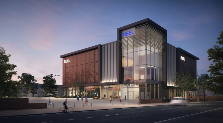 How the new cinema in Kirkby might look by night