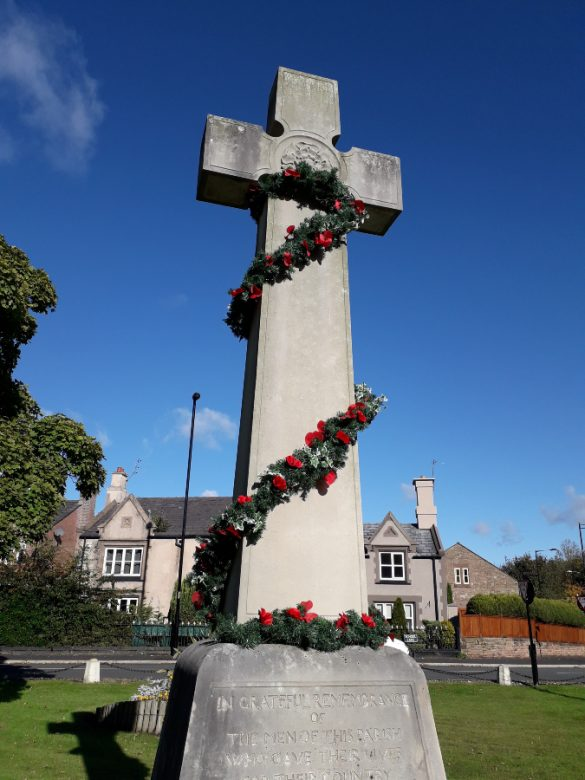 War Memorial Knowsley Village