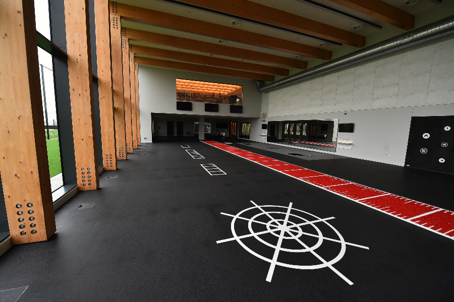 The First Team gym at Liverpool FC's new Axa Training Centre in Kirkby. (Picture: Liverpool FC/Andrew Powell).