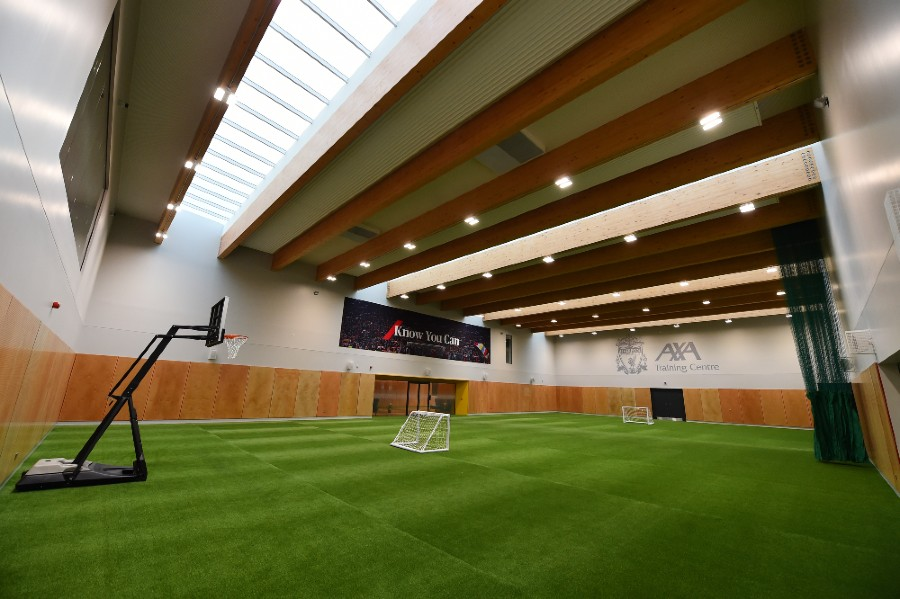 Indoor Sports Hall at Liverpool FC's new Axa Training Centre in Kirkby. (Picture: Liverpool FC/Andrew Powell).