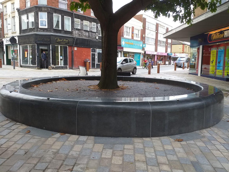 Eccleston Street, Prescot - public realm improvement work