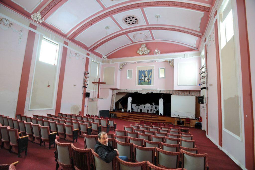 Prescot Palace cinema - the surviving auditorium
