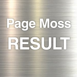 Page Moss results