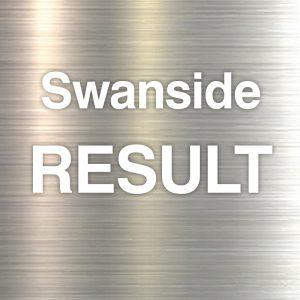 Swanside result