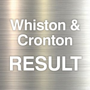 Whiston and Cronton result