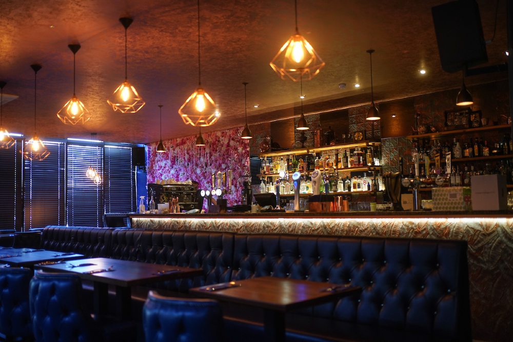 The bar area in Common, Huyton Village