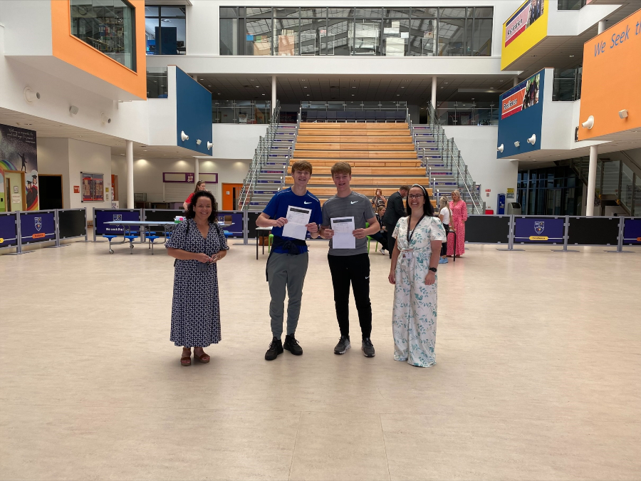 Halewood Academy GCSE results day